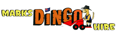 Mark's Dingo Hire logo