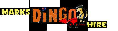 Mark's Dingo Hire logo